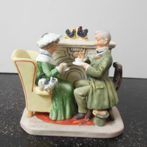 """Norman Rockwell Figurine """"Vintage Times"""""""